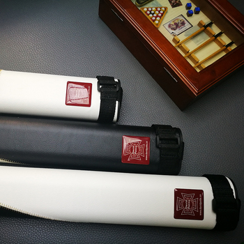 2018 New DAVID POTTS Cue Case Gorgeousness British Style Bilhar Pool Cue Case 2 Holes Billiard Accessories Made In China