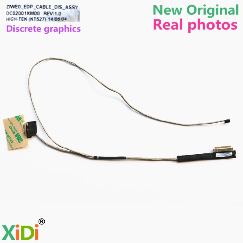 Computer & Office Wzsm Wholesale New Lcd Flex Video Cable For Lenovo E40-30 E40-70 E40-80 E41-80 Laptop Cable Dc02001xm00