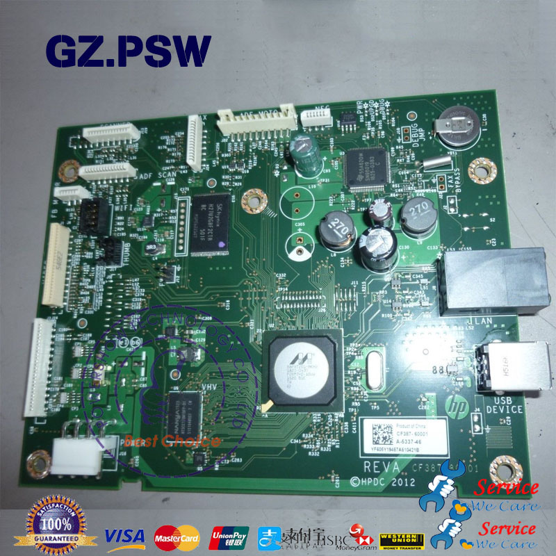 Original Formatter Board CF386 60001 CF386 60002 CF387 60001 For Color LaserJet M476 HP476 M476DW 476