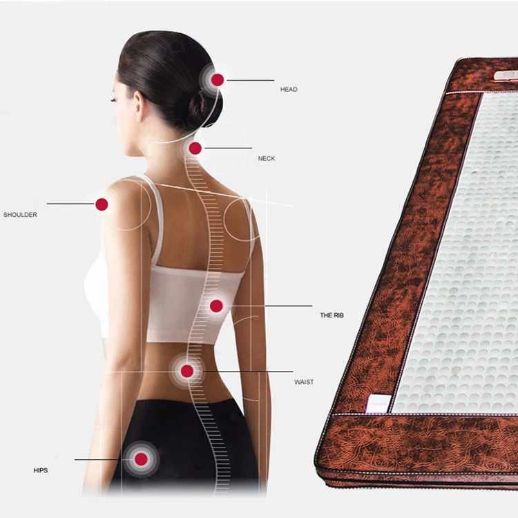2016 nuevo masajeador de colchón de Sauna eléctrico barato de Jade para colchón de cama de Jade 1,0X1,9 M envío gratis