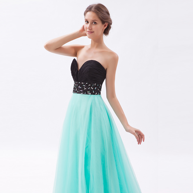 Colorful Young Girl Prom Dresses High School Student Evening Party ...