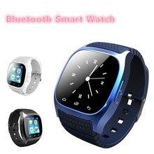 2016 New Smartwatch M26 Sport Bluetooth Smart Uhr Mit Zifferblatt SMS Erinnern Pedometer für Android Samsung xiaomi Huawei telefon