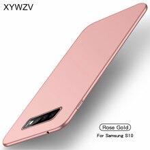 สำหรับ Samsung Galaxy S10 Case Silm Luxury Ultra Thin Hard PC สำหรับ Samsung Galaxy S10 ฝาครอบสำหรับ Samsung S10 Fundas