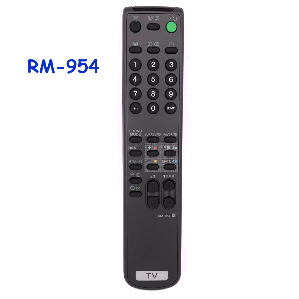 Free Shipping New Original/Genuine RM-954 Remote Control For SONY TV RM 954 Remoto Controller Fernbedienung genuine hongdak rm s1am 1 2 lcd wired remote control camera timer for sony alpha dslr a100 more