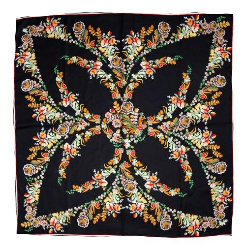 ELEGANT HANDMADE BRAND 100%Twill Silk Scarf TWIC-89753