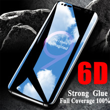 6D Full Curved Tempered Glass For Samsung Galaxy S10 S9 S8 Plus For Screen Protector Film Samsung Note 9 8 S10 Galaxy S7 S6 Edge все цены