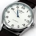 Automatic Mechanical Leather Watch Self-Winding Man Male Wristwatch Free Shipping WINNER Classic AUTO Date LZ305