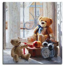 плюшевый медведь Алмаз живопись поделки площадь живопись, вышивка