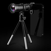 4K HD 18 30X Zoom Mobile Phone Lens Monocular Optical Lens Observing Survey Telephoto QJY99
