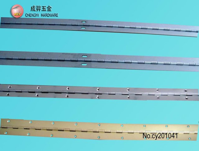 201/304 stainless steel piano hinges&long hinge