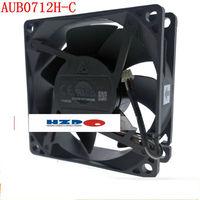 AUB0812H-E 12 AUB0712HH-C Delta ventilador de refrigeração 7025 8025 v projeto refrigerador AUB0712H-C