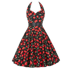80969649ead5b Buy pin up cherry dress and get free shipping on AliExpress.com