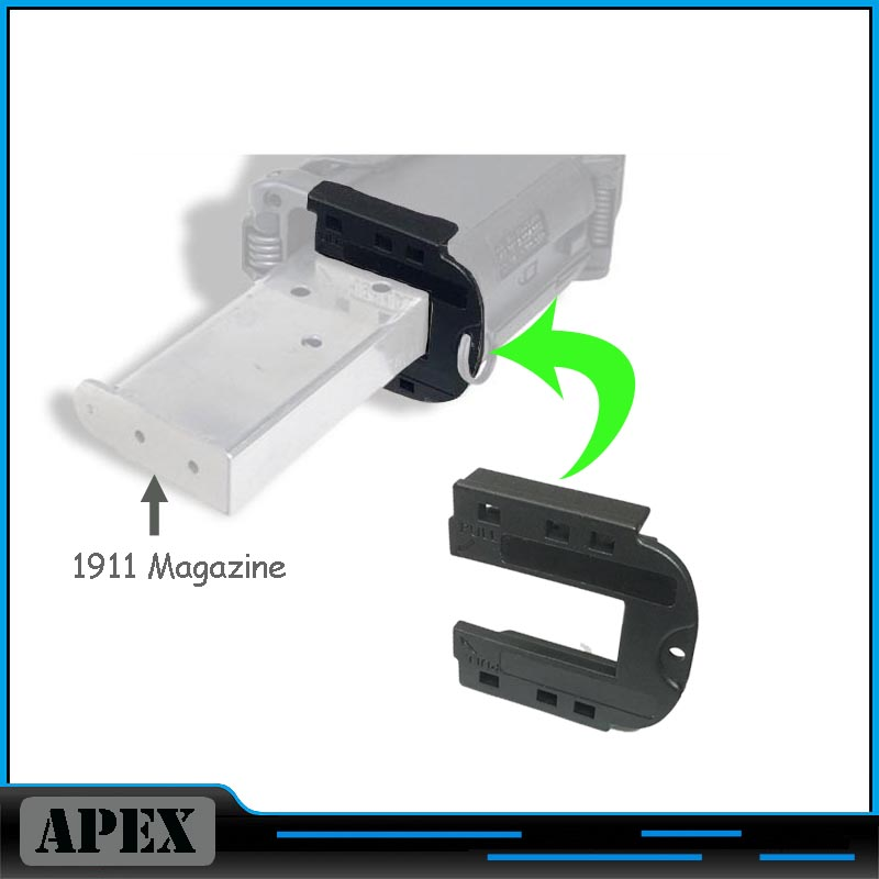 Magazine Speed Loader For 1911 Magazine Loader Accessory Black Free Shipping цены