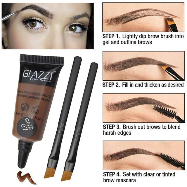 Aliexpress Buy Professional Make Up Brown Eye Brow Tint Long