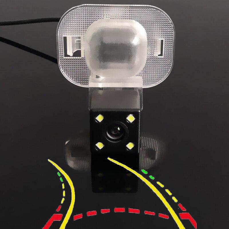 A trajetória dinâmica inteligente segue a câmera de visão traseira do carro para hyundai ix20 i25 accent solaris grand avega/kia forte r 2009-2015