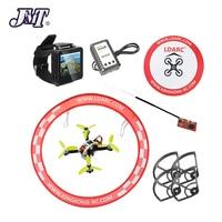 JMT Full Set Mini Brushless Racer FPVEGG PRO PNP with 138mm Frame Frsky Flysky RX FS I6 TX FPV Watch Apron RC Drone DIY Aircraft