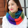 2016 Ladies Winter Scarf Knitting Wool Collar European Version of Hot Autumn Warm Winter Collar for Chrimas Gife