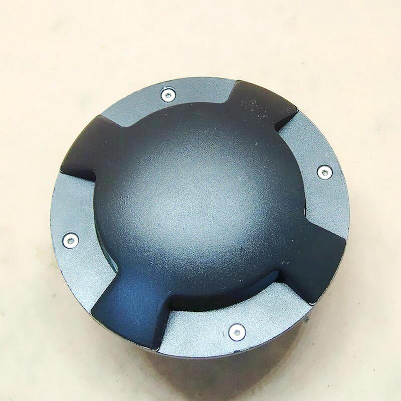 5 Вт Бесплатная доставка IP68 открытый Водонепроницаемый круглые светодиодные шаг огни подземный свет AC85V-265V светодиодные фары палубе СИД шаг...