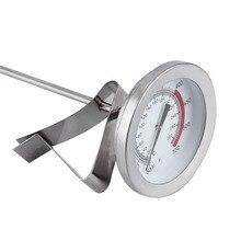 Длинный зонд из нержавеющей стали, кухонные термометры, высокотемпературный бытовой измеритель температуры, кухонные инструменты