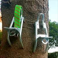 YINGTOUMAN Tasche Multi Werkzeuge Outdoor Wandern Baum Klettern Werkzeuge Hohe Festigkeit Pick Kokosnüsse Sicher Clamber Klettern Baum Schuhe