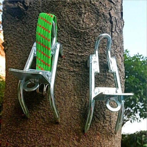 yingtouman bolso multi ferramentas ao ar livre caminhadas arvore escalada ferramentas de alta resistencia picareta