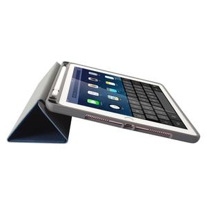 Image 3 - Ultra Slim קל משקל חכם כיסוי מגן Stand מקרה עם אפל עיפרון מחזיק עבור iPad פרו 10.5 2017 A1701 A1709 Tablet