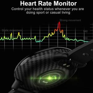 Image 5 - SENBONO K1 Smart Watch Men Women IP68 Waterproof Clock Activity Fitness tracker Heart rate monitor Smartwatch for IOS Android
