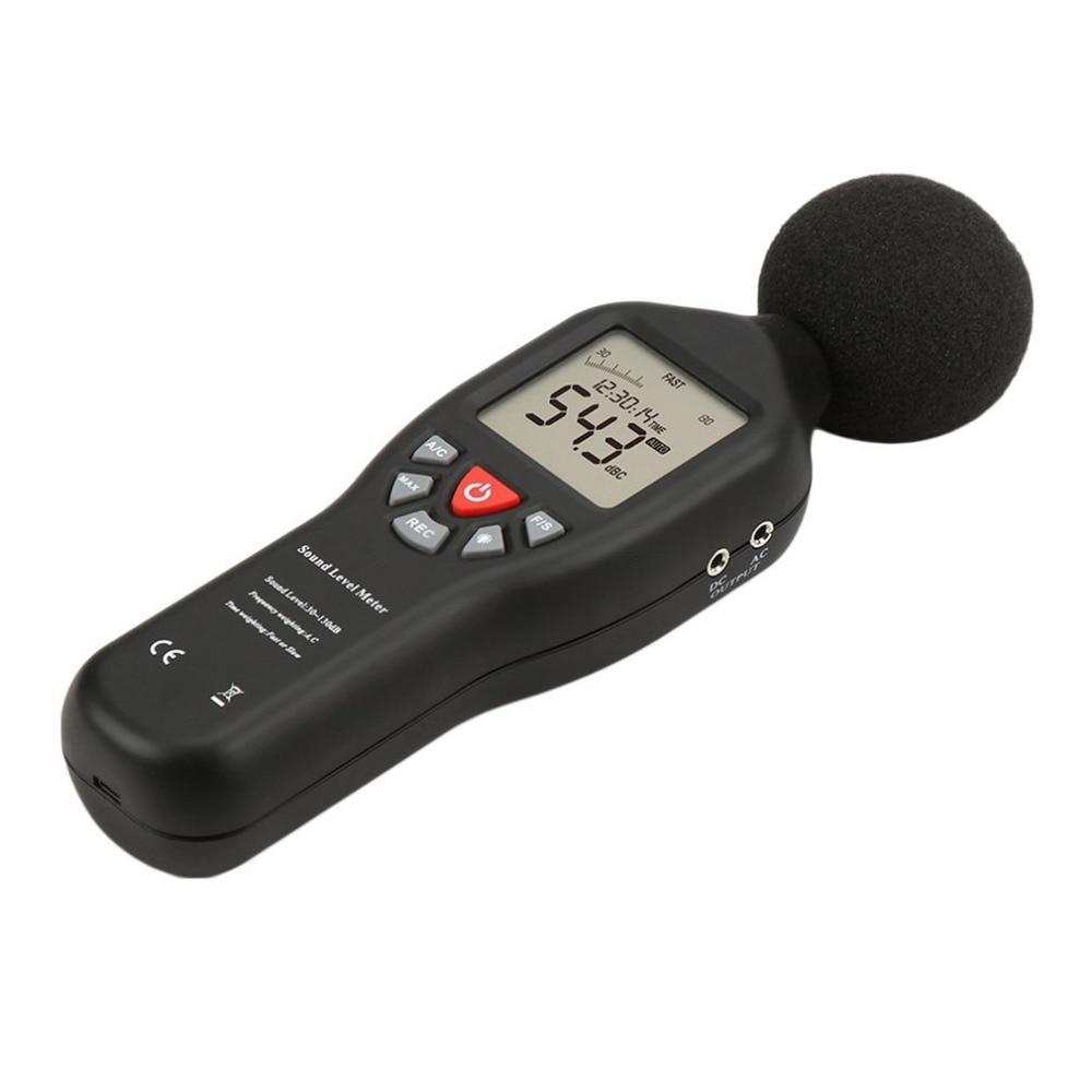 TL-200 USB High Precision Decibel Sensor Digital Sound Level Decibel Meter 30-130dB With Backlight 32000 Data Noise Measurement