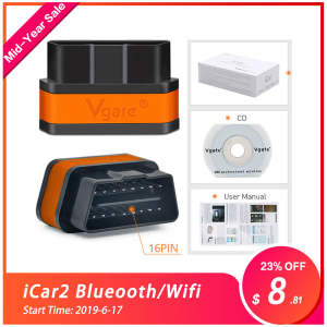 Vgate icar2 Bluetooth/Wifi OBD2 Diagnostic tool for Android/IOS/PC Code Reader