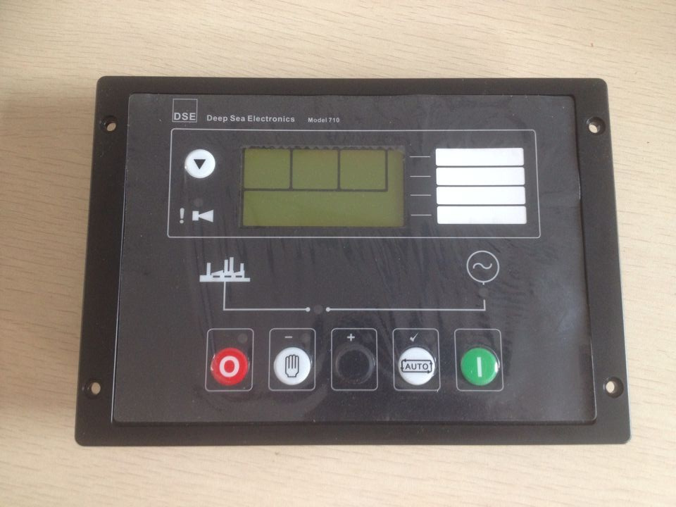 Generator Auto Start Control panel 710 replace DSE710 made in China Controller Genset controller free shipping deep sea generator set controller module p5110 generator control panel replace dse5110