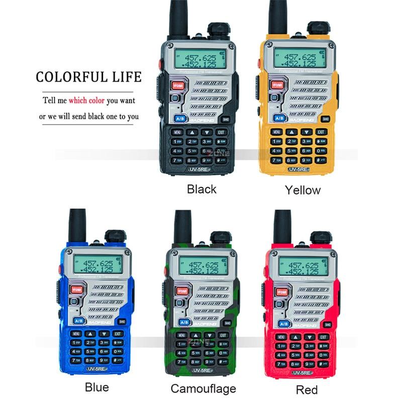 2 Kom Baofeng UV-5RE Walkie Talkie Dual Band CB Radio UV-5R 5W 128CH - Voki-toki - Foto 6