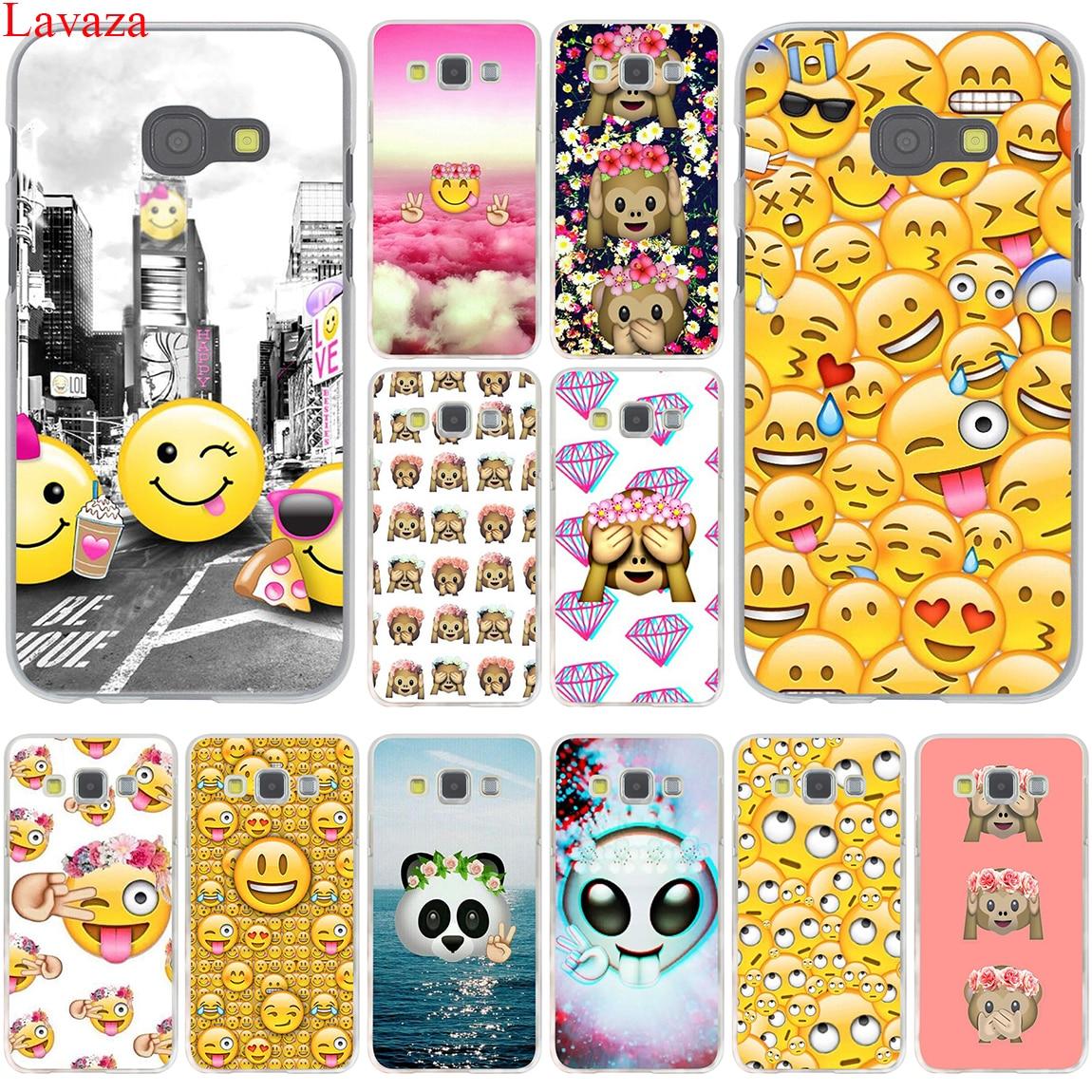 Lavaza smile coque alien emoji happy hard case cover for for Housse samsung j3