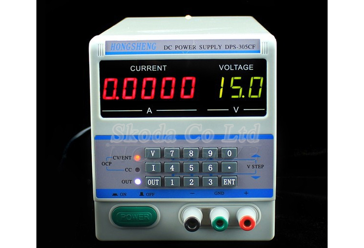 Adjustable Digital DC Power Supply DPS-305CF 30V 5A 0.1V/0.0001mA Programmable DC power supply for  Laptop phone repair