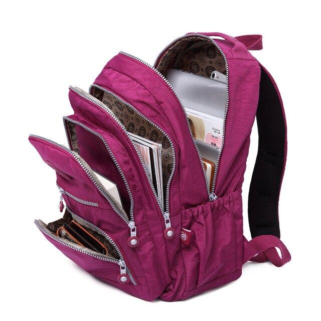 Mochila Feminina Mulheres casuais Mochila Mochila Para Adolescentes Menina Mochilas Bagpack Laptop À Prova D' Água Grande Saco de Viagem Capacidade