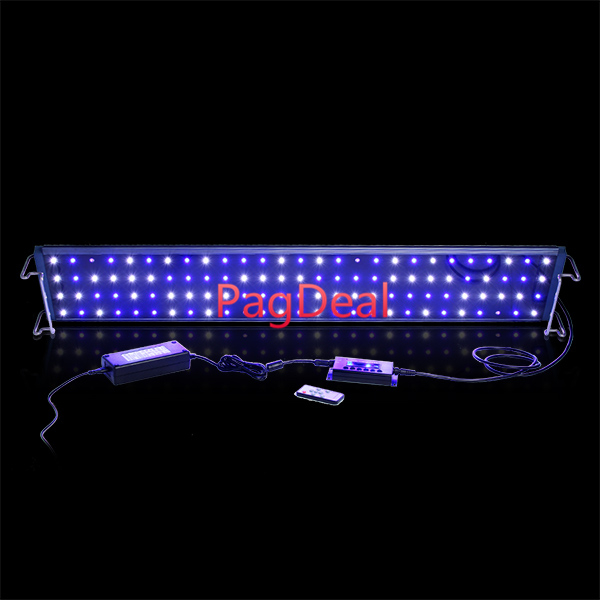 <font><b>120CM</b></font> Wifi Programmable Dimming Coral Reef <font><b>Led</b></font> Lamp 324W Cree <font><b>Led</b></font> <font><b>Aquarium</b></font> <font><b>Light</b></font> Dimmable Sunrise Sunset For 120-150cm Fish Tank image