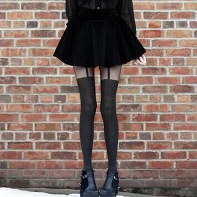 Spring Summer New Sexy Tight Black Stockings Pantyhose -1701
