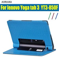 For Lenovo Yoga Tab 3 850F YT3 850F 850M 850L 8 0 Inch Tablet Cases Luxury