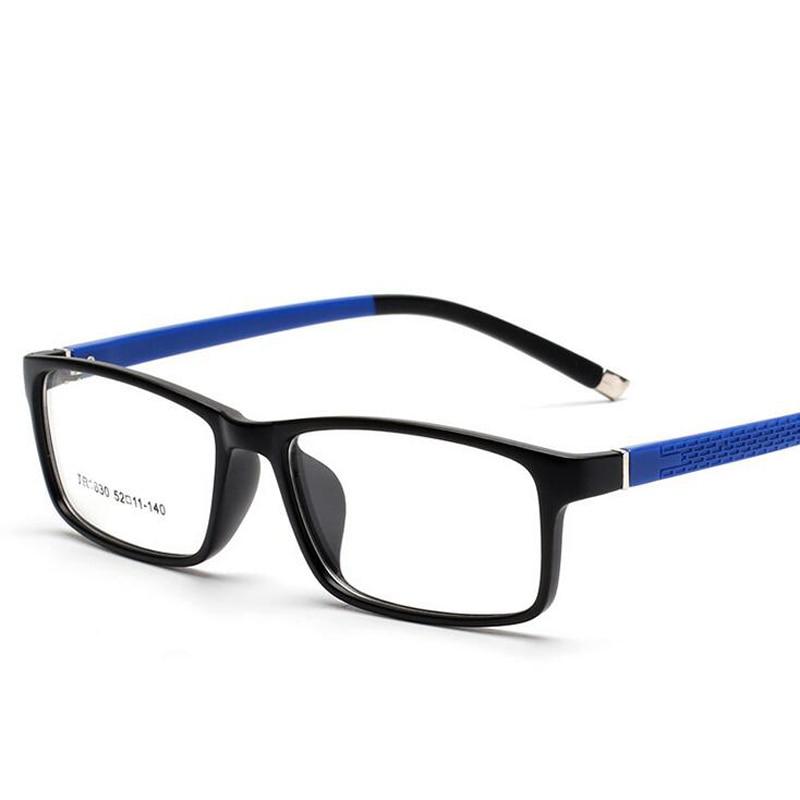 6 Farben Brillen Frames Brille Trendy Unisex Männer Frauen Brillen Rahmen Brille Quadratischen Rahmen Weich Und Rutschhemmend