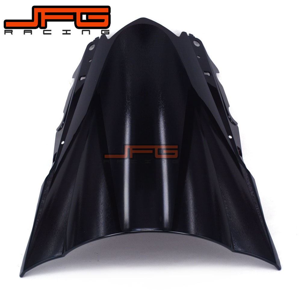 Image 4 - Black Windscreen Windshield for Yamaha YZF R3 YZFR3 YZF R3 YZF R25 YZFR25 YZF R25 2015 2016 2015 2016 Motorcycle-in Covers & Ornamental Mouldings from Automobiles & Motorcycles