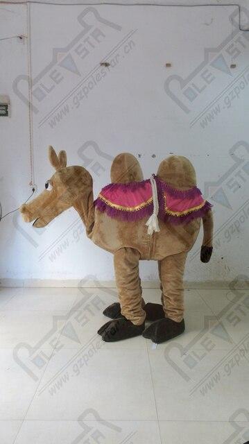 Dos personas camello mascota trajes de dibujos animados Mule traje para  demostración de la etapa b4af5bbe95f