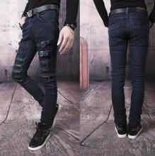 Spring blue Non-mainstream zipper designer jeans fashion true jeans men famous brand mens jeans pants skinny jeans men trousers