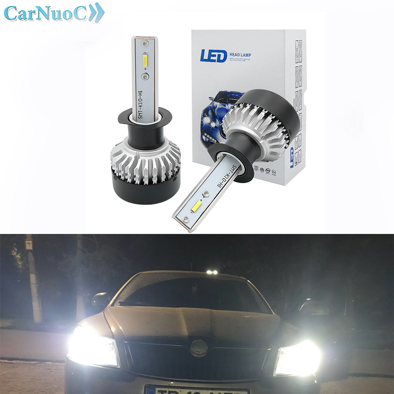 LED Car Lights H4 H7 LED H1 H8 9005 HB3 9006 HB4 Car Headlight Bulb 6000K For BMW e46 e90 e36 e60 e39 f30 f10 x5 x6
