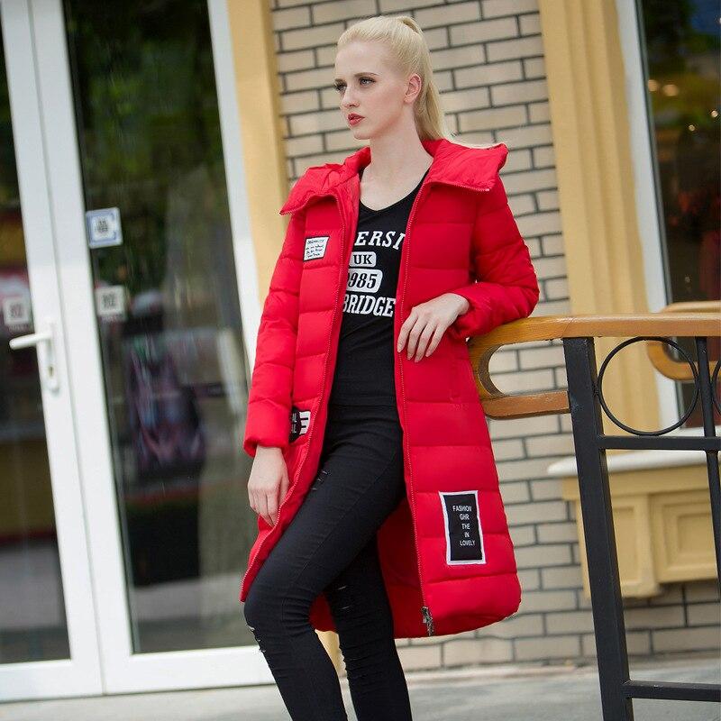 ФОТО 2016 Women Cotton Padded Winter Parka Wadded Jacket Thickening Warm Luxury Long Cotton-Padded And Coats Jaqueta Feminina Casaco
