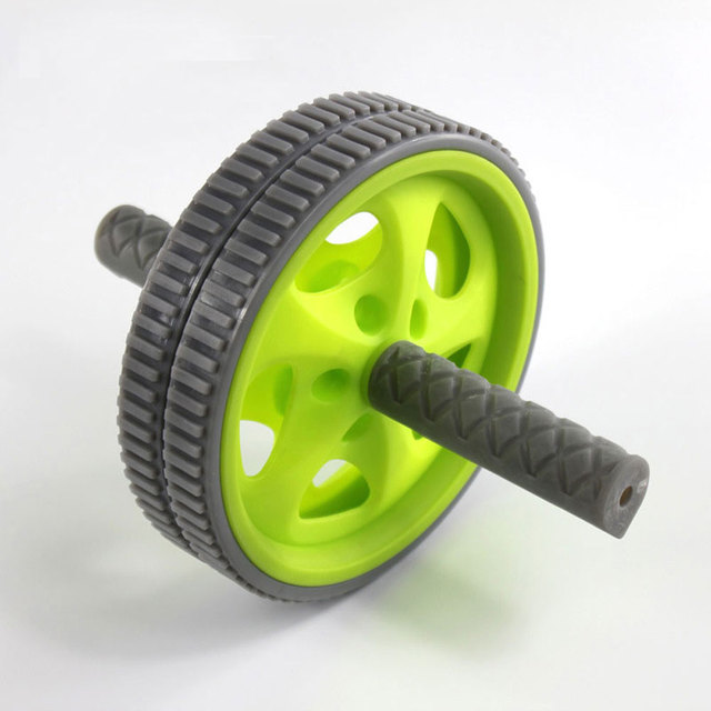 No Noise Abdominal Wheel Ab Roller Dual Rolling Wheel  Ab Roller Wheel for Exercise Fitness Equipment Workout Accessory