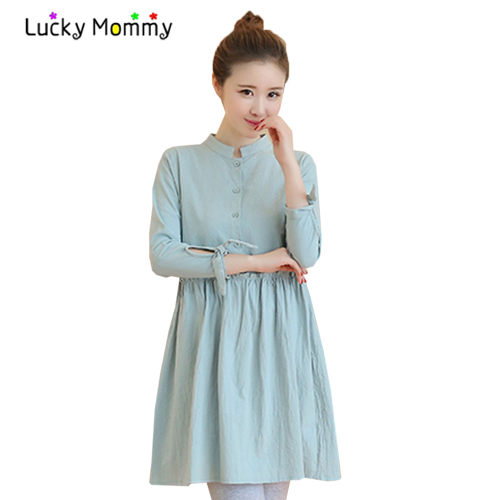 Long casual maternity dresses images braidsmaid dress cocktail online get cheap maternity long casual dress aliexpress casual long sleeve maternity dresses mandarin collar pregnancy ombrellifo Image collections