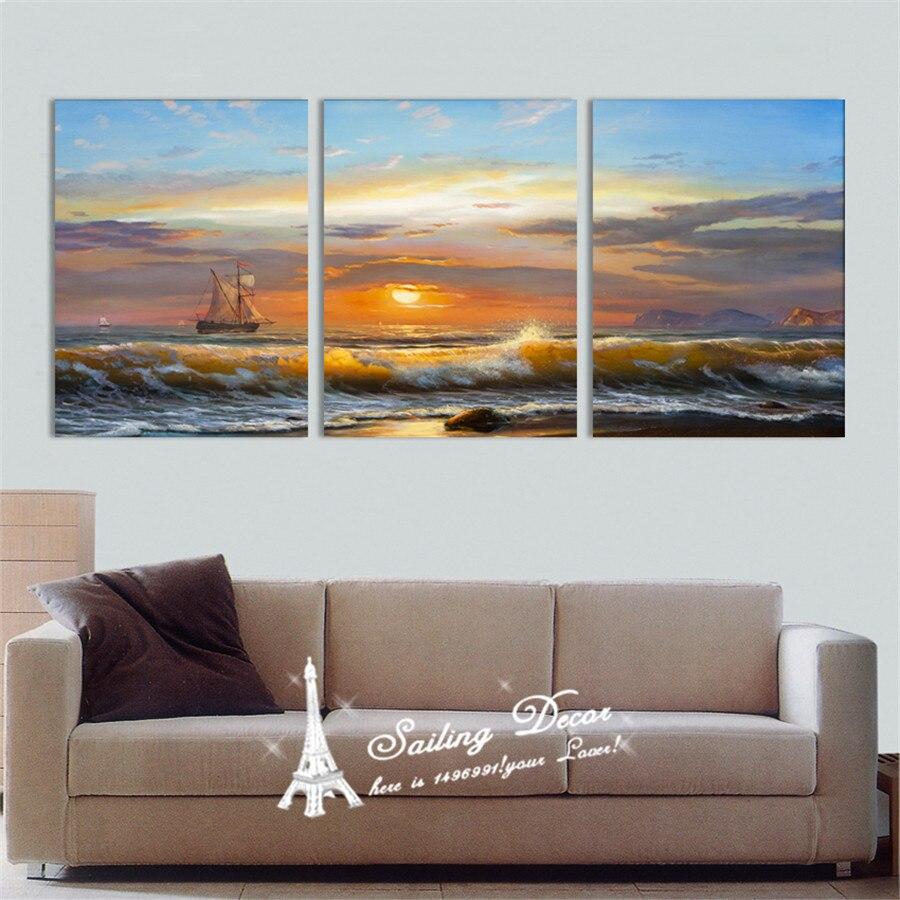 Nuevo Diseño Del Arte de la Lona Pinturas Wall Art Pictures Resumen ...