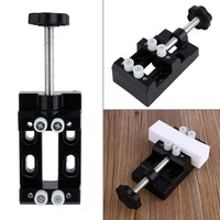 107x60x35cm 1Pc Table Bench Vice Aluminum Miniature Small Jewelers Hobby Clamp On Table Nuclear Clip Flat