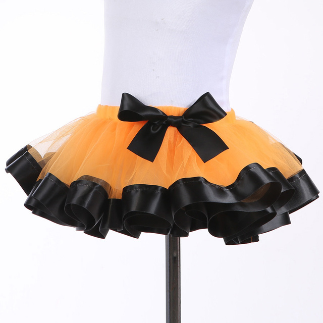 Pretty New Cute Girls Tutu Skirt Fluffy Pettiskirt Princess Tulle Girl Skirt For Birthday Party Festival Hallowmas Photo Props