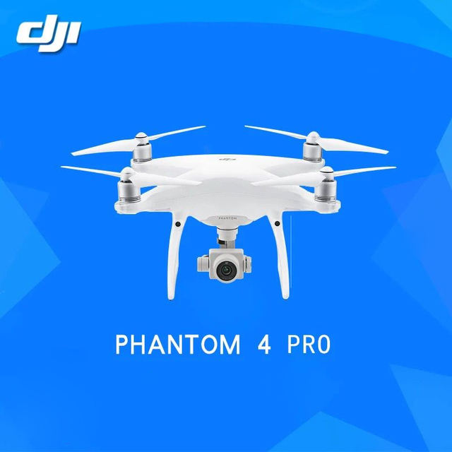 En stock original dji phantom 4 pro cámara drone drone con 4 k de vídeo 1080 p cámara rc helicóptero dji phantom pk 4