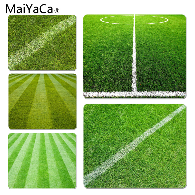 MaiYaCa In Stocked Grass Lines Customized laptop Gaming mouse pad Size for 180x220x2mm and 250x290x2mm Small Mousepad
